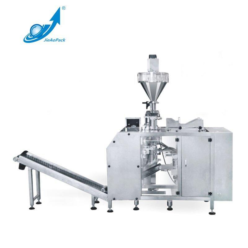 Single station bag feeding type powder packing machine
