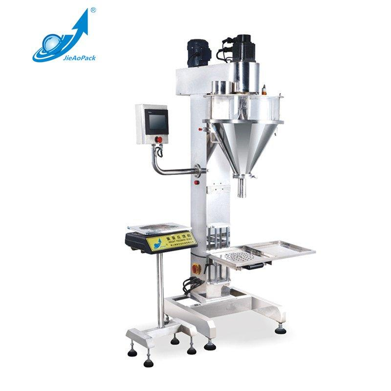 JAS-15/30/50/100 Semi Automatic Screw Powder Packing Machine