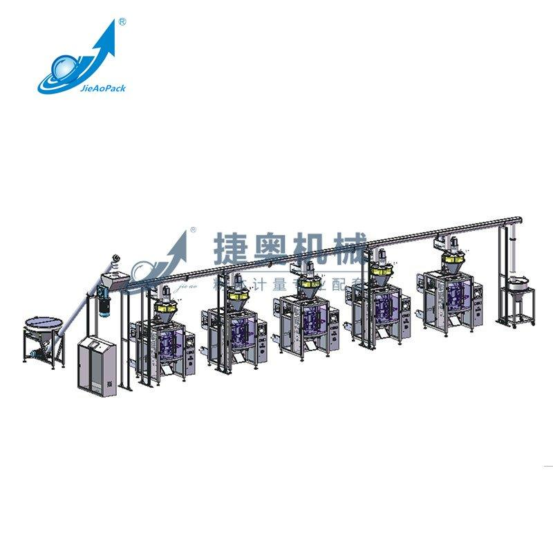 Automatic Powder Packing Machine Production Line