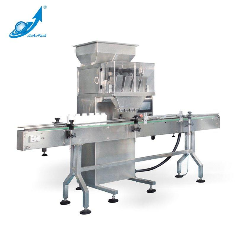 JA Four heads scale particle filling machine