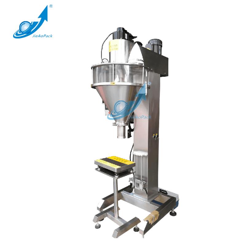 Powder Filling Machine For 20g~1kg Can/Bin/Bottle Packing