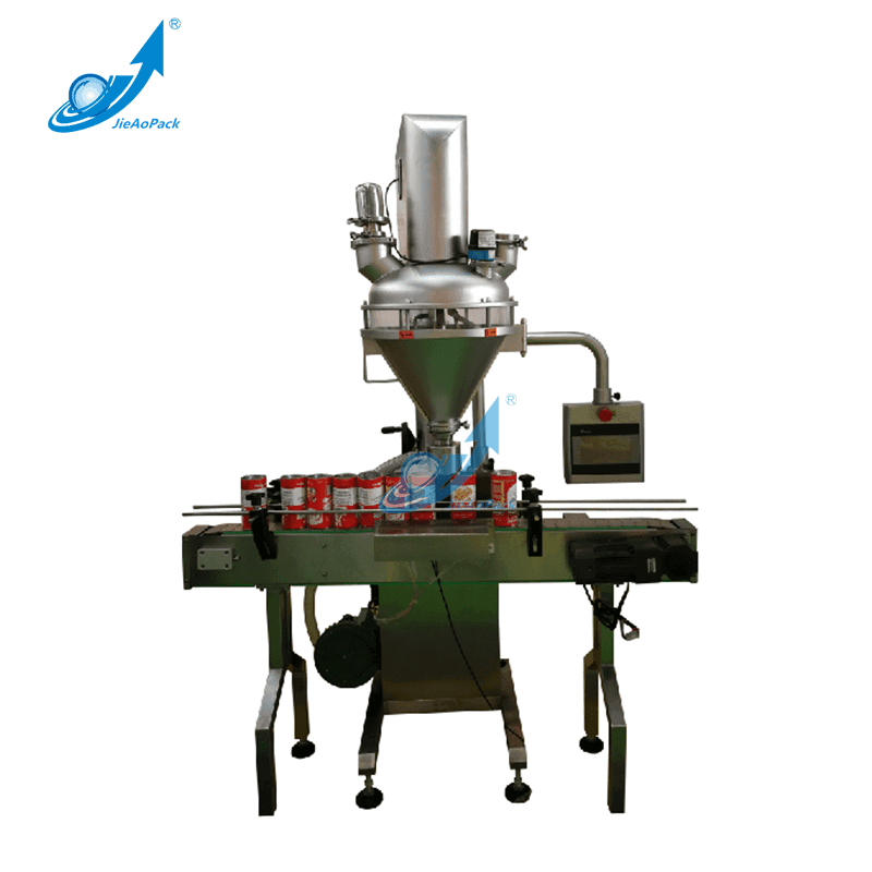 Semi Automatic Powder Filling Machine For Can/Bottle/Bin Packing